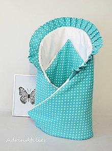 Textil - zavinovačka pre bábätko (Zelená) - 9986284_