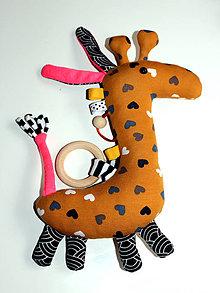 Hračky - Žirafka Klárka - 9988076_