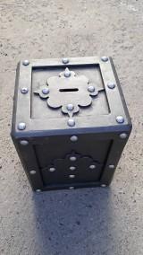 Krabičky - Kovová pokladnička - 9988067_