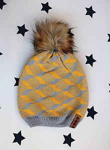Čiapky - Pletená čiapka - 9986100_