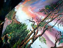Obrazy - Obraz - Súmrak v divočine / maľba akrylom / - 9988890_