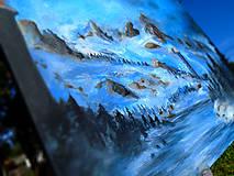 Obrazy - Obraz - Chladné údolie / maľba akrylom / - 9989008_