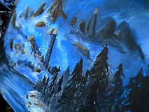 Obrazy - Obraz - Chladné údolie / maľba akrylom / - 9989010_