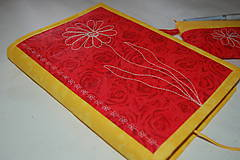 Úžitkový textil - kvietok - 9988265_