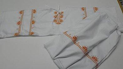 Oblečenie - Pánska vyšívaná košeľa Pavel - 9986940_