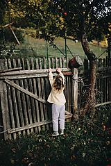 Detské oblečenie - Detské ľanové nohavice - 9991823_