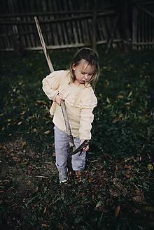 Detské oblečenie - Košieľka s dvojitým volánikom - 9991614_