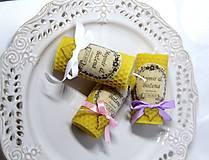 Darčeky pre svadobčanov - Svadobné sviečky - menovky/darčeky pre svadobčanov 1 - 9991654_