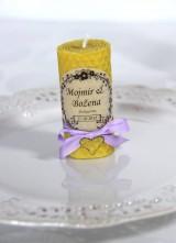 Darčeky pre svadobčanov - Svadobné sviečky - menovky/darčeky pre svadobčanov 1 - 9991657_
