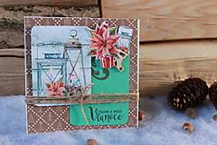 Papiernictvo - svetielko_ vianočná pohľadnica - 9989024_