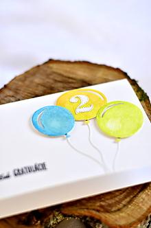 Papiernictvo - Balóny (Farebné balóniky) - 9991031_