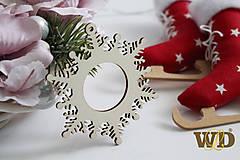 Dekorácie - Vianočné drevené ozdoby - 9991272_