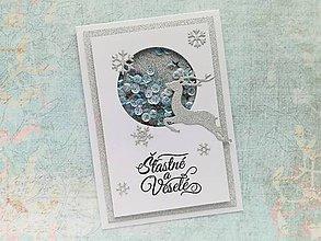 Papiernictvo - Vianočný SHAKER pozdrav ´18 - 9990372_