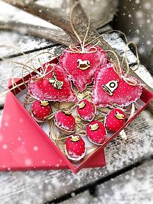 Dekorácie - Vianočná sada 9ks - 9993196_