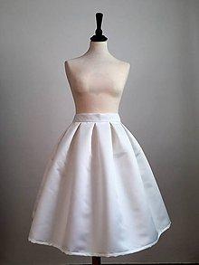 Sukne - slávnostná sukňa Biela - 9990924_