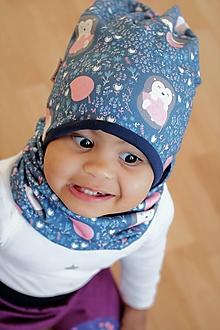 Detské súpravy - Detský setík čiapka+nákrčník