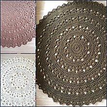 Úžitkový textil - Koberec - okrúhly - 9991171_
