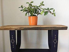 Nábytok - Vidiecky mini stolík - 9992970_