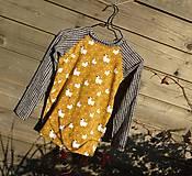 Detské oblečenie - Tričko s dlhým rukávom - ovečky - 9993303_
