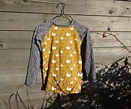 Detské oblečenie - Tričko s dlhým rukávom - ovečky - 9993305_