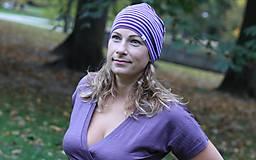 Iné oblečenie - Merino čiapka celoročná dospelák - v 4 farbách (Modrá) - 9989035_