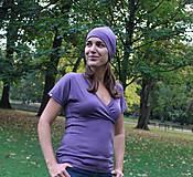 Tričká - Merino (nielen kojo) tričko - 9989045_