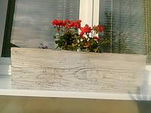 Nádoby - drevený kvetináč, debnička, hrantík - 9989068_