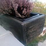 Nádoby - drevený kvetináč, debnička, hrantík - 9989069_