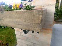 Nádoby - drevený kvetináč, debnička, hrantík - 9989070_
