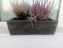 Nádoby - drevený kvetináč, debnička, hrantík - 9989071_
