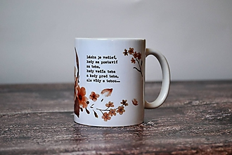 Nádoby - Hrnček - Láska je vedieť... - 9989882_