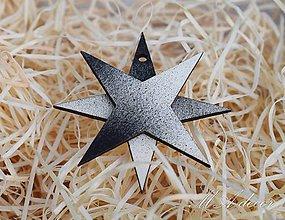 Dekorácie - ozdôbka hviezda 1 - 9989903_