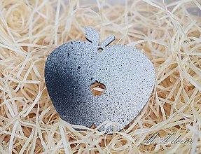 Dekorácie - ozdôbka jablko - 9989965_