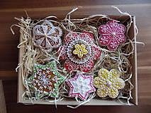 Dekoratívne medovníky -sada v darčekovom balení