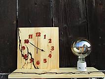 Svietidlá a sviečky - Stolní Lampa s Hodinami - 9992325_