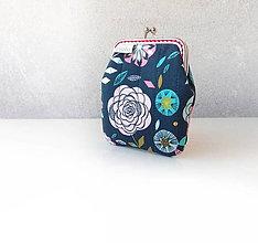 Peňaženky - Peňaženka Zmes kvetov M - 9989934_