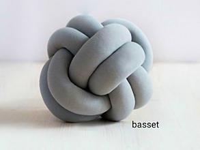 Úžitkový textil - Pletený vankúš - 9989620_
