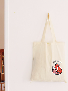 Nákupné tašky - Skroť si ma - plátená taška - 9991631_