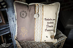 Úžitkový textil - Vankúšik pre  najlepšiu pani kuchárku do škôlky - 9996457_