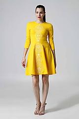 Šaty - Šaty žlté Lovely - 9995599_