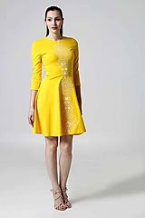 Šaty - Šaty žlté Lovely - 9995600_