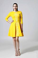 Šaty - Šaty žlté Lovely - 9995601_