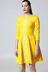 Šaty - Šaty žlté Lovely - 9995602_