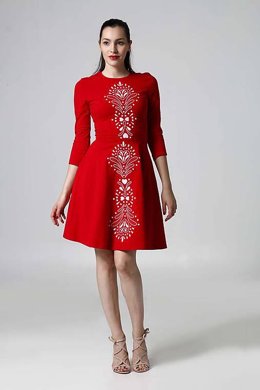 92c9473ab14e Šaty Lovely červené   ZuzanaZachar - SAShE.sk - Handmade Šaty