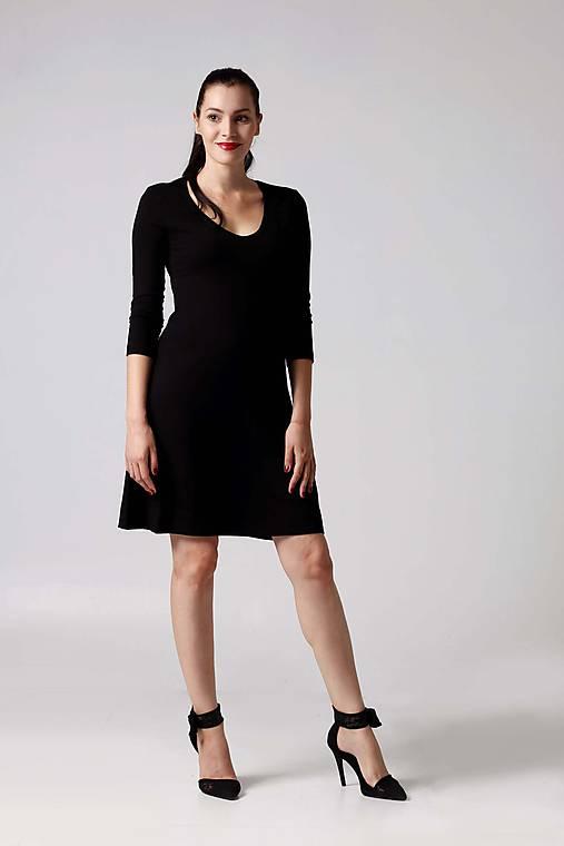 Šaty - Šaty s polkruhovou sukňou - 9996137_