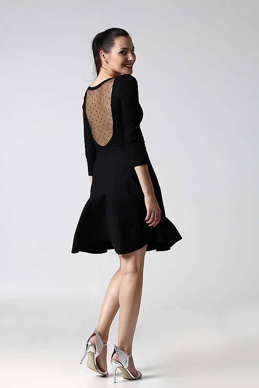 Šaty - Šaty s tylom na chrbáte - 9996293_