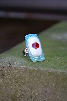 Prstene - Sklenený prsteň - Veselý 1 - 9994978_