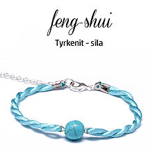 Náramky - feng-shui SILA - tyrkenit - 9996090_