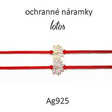 Náramky - ochranné náramky lotos - 9996230_
