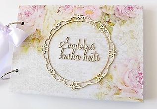 Papiernictvo - svadobná kniha hostí - 9993484_